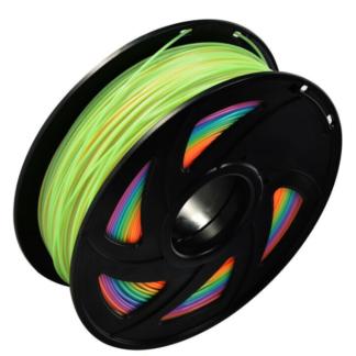 PLA regnbue filament